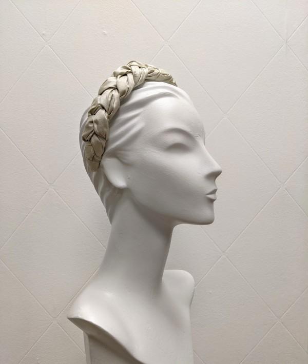 Champagne bridal headband